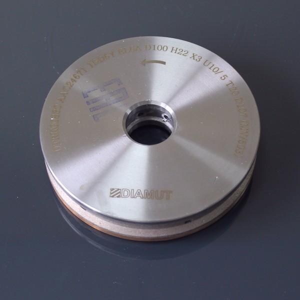Алмазные периферийные круги с охлаждением